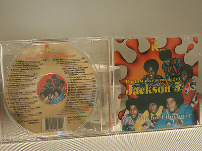 Michael Jackson Five THE FIRST EVER RECORDING  cd  rare