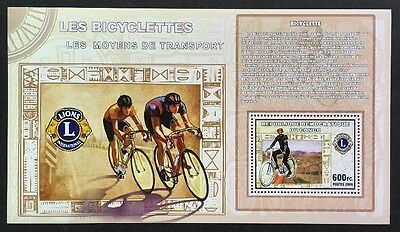 Radsport Cycling Sport Sports Congo 2006 MNH ** Block Sheet