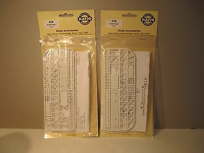 2 No Ratio 00 gauge railway signal kits, 478