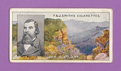 People  -  F.  &  J.  Smith  -  Famous  Explorers  -  John  M.  Stuart  -  1911
