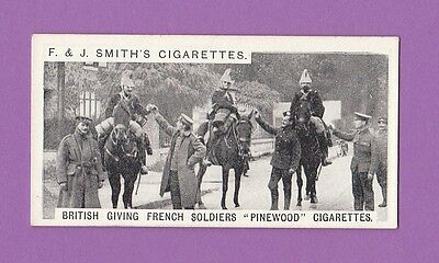 Military  -  F.  &  J.  Smith  -  War  Incidents  2Nd  Series  Card  No 1 - 1911