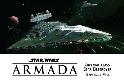 Star Wars: Armada, Imperial Class Star Destroyer Exp Pack, NEW & SEALED!!