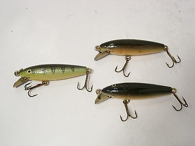 Vintage Wooden Fishing Pike Plugs Lures - Retaining Well....
