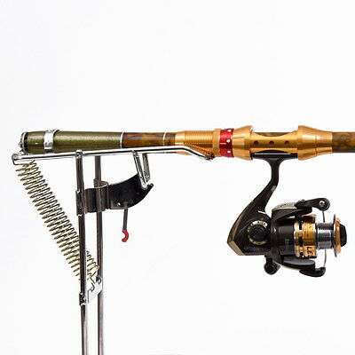 Stainless Steel Automatic Double Spring Angle Pole Bracket Fishing Rod Holder