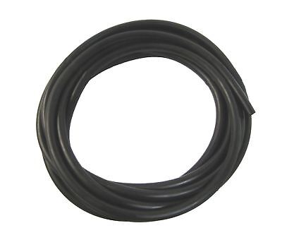 Petrol Pipe, Neoprene, 5.5mm x 10mm, Black, 5 Metre Roll,