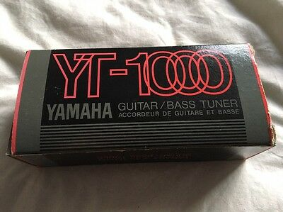 Yamaha YT-1000 Guitar and Bass Tuner