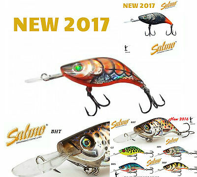 Salmo SPARKY SHAD 4cm sinking 3,5 gr. NEW Colours 2017 !!! 1st class Free Post