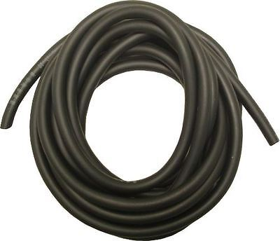 Petrol Pipe, Neoprene, 4mm x 8mm, Black, 5 Metre Roll,