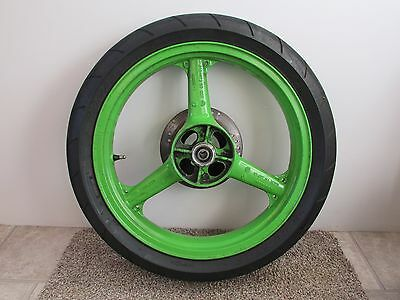 Kawasaki KR1 Rear Wheel with Tyre and Disc