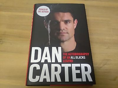 Signed Dan Carter Autobiography.
