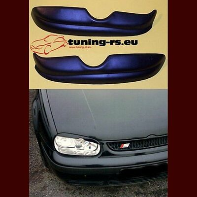 VW GOLF 4 CASQUETTES DE PHARES (ABS) tuning-rs