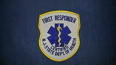 New Jersey First Responder Patch