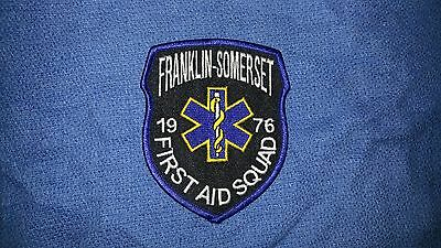 Franklin-Somerset First-Aid Squad Patch