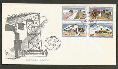 SOUTH WEST AFRICA - 1981 Salt Industry    - FIRST DAY COVER.