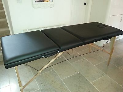 Massage Imperial® Lightweight Professional Black Portable Massage Table