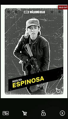 The Walking Dead Card Trader Rosita Charcoal Challenger (18cc)