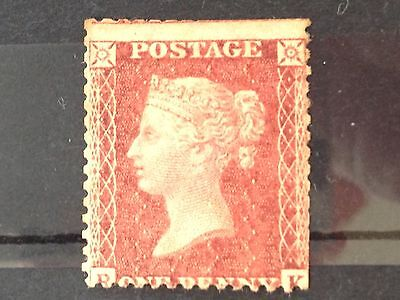 Qv Penny Red Star Mint
