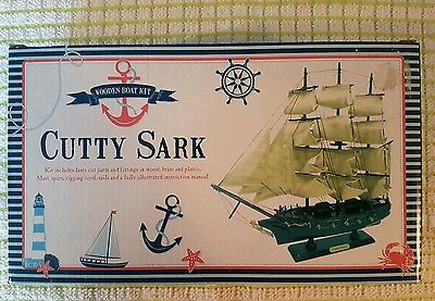 The Works Wooden Boat Kit Cutty Sark