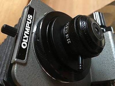Olympus OM Bellows Macro +7mm Extension Tubes [boxed] +20mm f3.5 RMS Lens (10:1)