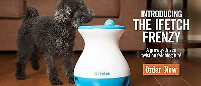 Introducing the iFetch Frenzy - THE LATEST INTERACTIVE GAME FOR DOGS! GREAT GIFT