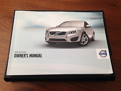 2011 Volvo C30 Owners Manuals