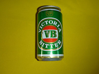 Victoria's Bitter Gold CUB & Green VB Beer Can Vintage Rare Carlton United
