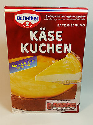 Dr.Oetker - CHEESE CAKE - KÄSE KUCHEN - MADE IN GERMANY