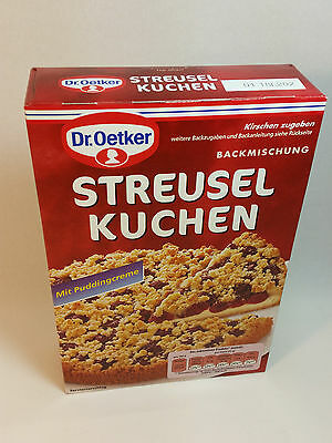 Dr.Oetker - Crumble Cake - Streusel KUCHEN - MADE IN GERMANY