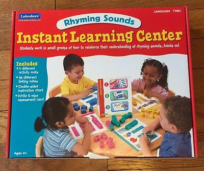 Lakeshore Learning Rhyming Sounds Instant Learning Center