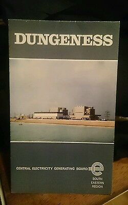 Vintage Dungeness Nuclear Power Station Brochure/Book/Booklet