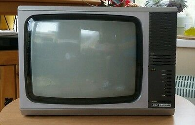 Retro Gec television in working order.