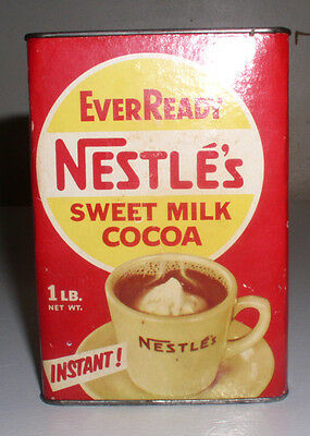 Vintage Nestle's EverReady Sweet Cocoa Mix, With The Cocoa