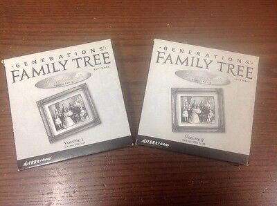 Generations Family Tree Software Grande Suite 20 Disc Set