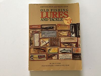 Old Fishing Lures And Tackle No3 Carl F Luckey 1991 Heddon Bass Plugs Rare