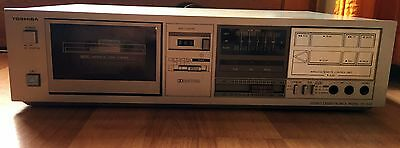 Rare Toshiba Stereo Cassette Deck PC-G20 (2 Motor IC Logic Control) w RC