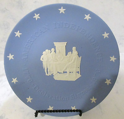 Wedgwood American Independence - Declaration Signed Plate - 8 Inch - Used