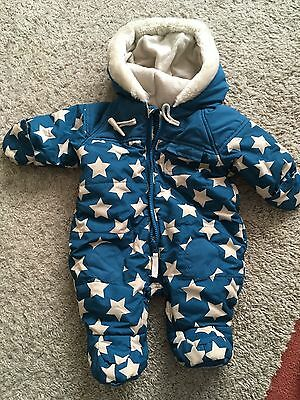 Baby Boys Winter Snow Suit Up To 3 Months