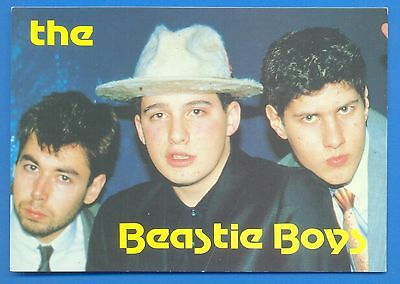 The Beastie Boys.large Postcard Published 1987