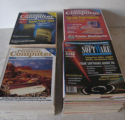 Australian Personal Computer magazine - 47 issues + 5 special issues - 1990-94 +