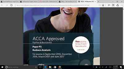 ACCA P3 Bpp Practice & Revision KIT March & June 2017