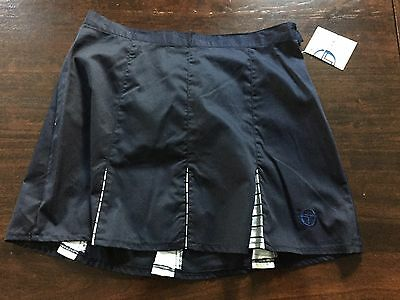 Vintage Sergio Taccini Tennis Rock Skirt Made In China 1980's. Size D48 Womens