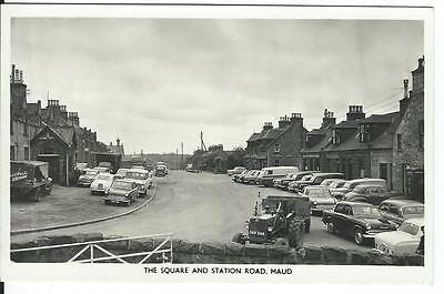 The Square And Station Road , Maud .