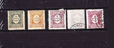 PORTUGAL timbres taxe 1915-22