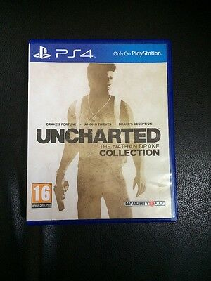 uncharted the nathan drake collection ps4 Mint Condition