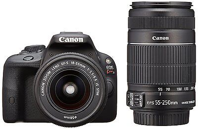 Canon EOS Kiss X7 Lens Kit EF-S18-55mm / EF-S55-250mm included KISSX7-WKIT