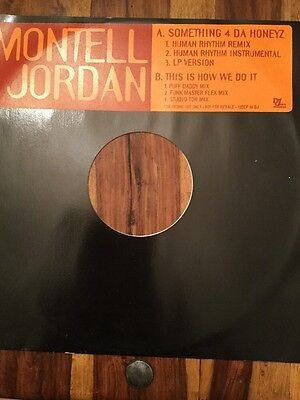 Montell Jordan - Somethin' 4 Da Honeyz (Vinyl)