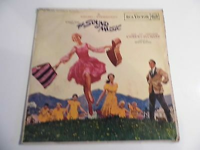 The Sound of Music Soundtrack Vinyl Record GC RCA Victor