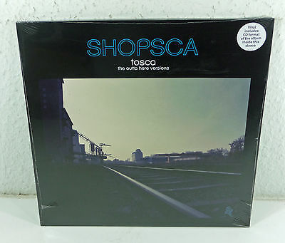 "TOSCA - OVP sealed SS 2-LP + CD 2015 ""Shopsca The Outta Here Versions"" !K7 Rec."