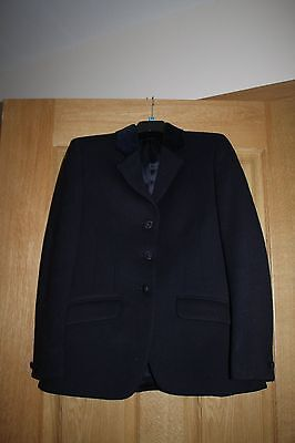 Maids Navy Mears Showing Jacket size 32  Pure wool