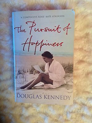 The Pursuit Of Happiness By Douglas Kennedy Paperback Book